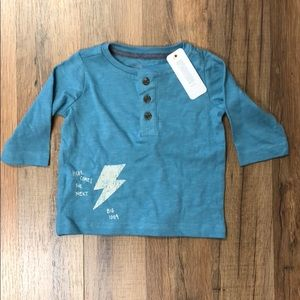 Gymboree Baby Boy Long Sleeve Henley NWT